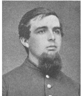 John Rice, 2d New Hampshire, wounded through the lungs on Matthews Hill.